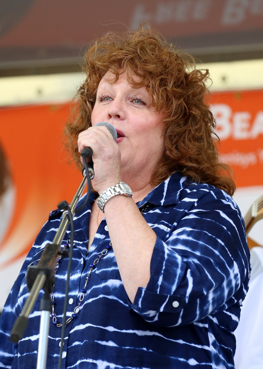 """Colleen Beaton's live performances include singing with a metro Detroit band called Riot in the late 70's. In 1980, she sang background vocals with Bob Seger and the Silver Bullet Band on the nationwide """"Against the Wind' tour and appears on the 'Nine Tonight' live album. Between 1984 and 2002, Colleen was a studio singer featured in more than 500 national & local advertising television & radio jingles. Currently, she is proud to be a Mass cantor at Guardian Angels Catholic Church in Clawson. Colleen's very first show with the band Riot, was the warm-up act for Isaac Hayes at Cobo Hall, and she was the featured singer on the first """"Say Yes! to Michigan"""" campaign in the early 80's. Chaka Khan is her biggest influence (""""I always wanted to be able to hit those notes!""""), as well as Stevie Wonder, Michael Jackson, and The O'Jays. Colleen grew up in Warren, MI and now lives in Clawson."""